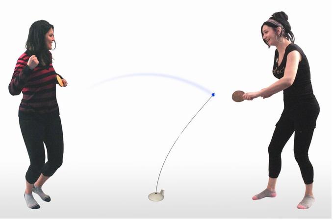 Bộ chơi bóng bàn một mình hoặc 2 người tại nhà, 3 bóng, tặng 1 dây đàn hồi 3