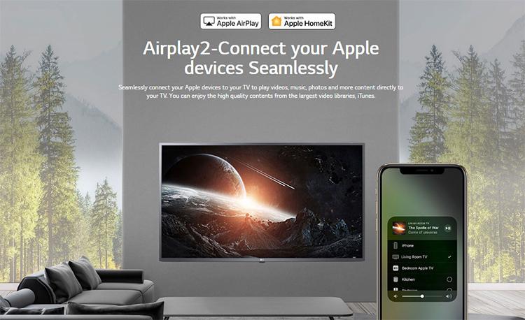 Smart Tivi LG 70 inch 4K 70UN7300PTC - Hàng Chính Hãng