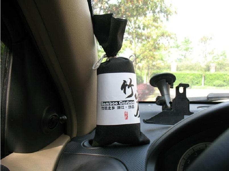 Túi Than Tre hoạt tính khử mùi, lọc không khí xe hơi, xe ôtô (màu sắc ngẫu nhiên) 2
