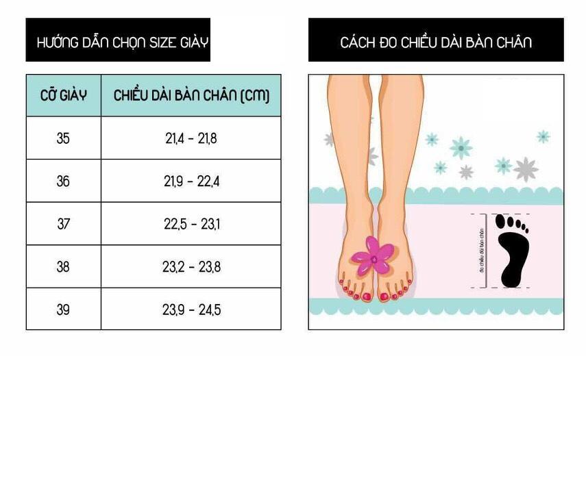 Giày Sandal Cao Gót Nữ Da Nỉ Cao Cấp Cài Quai Viền Đen Đế Vuông Cao 7p- CTG8504 1