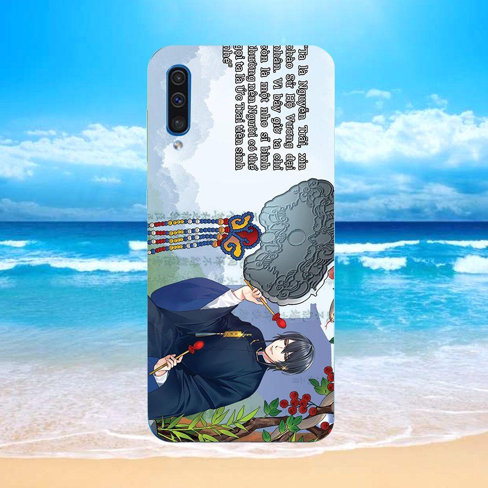 Ốp điện thoại dành cho máy Samsung Galaxy A7 2018/A750 - sử hộ vương MS SHV016