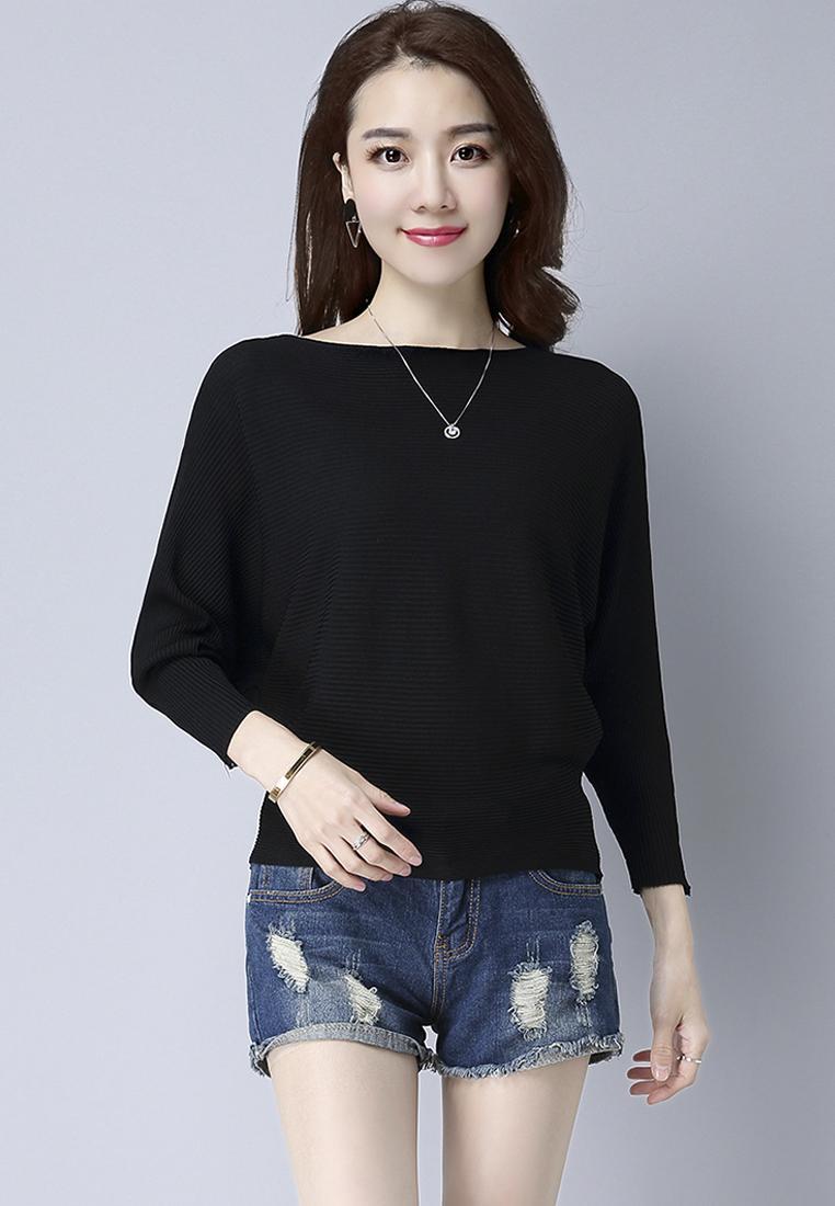 Áo len nữ cánh dơi thời trang Hàn Quốc 3