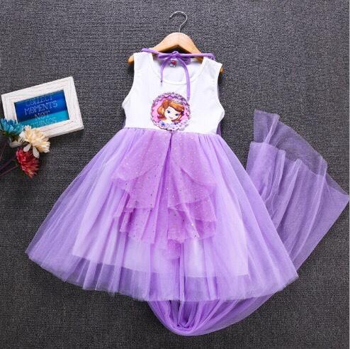 váy công chúa sofia