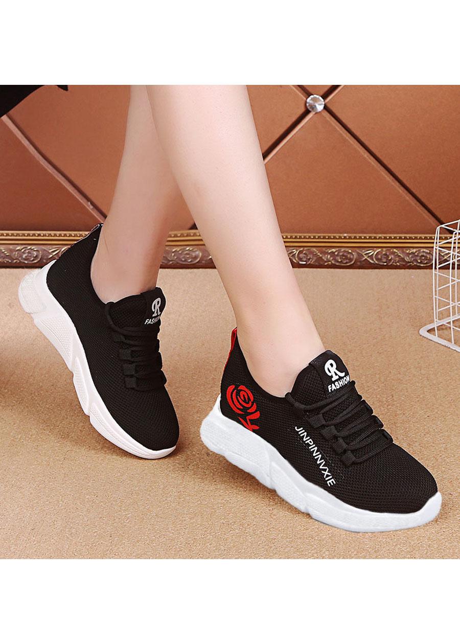 Giầy sneaker nữ buộc dây V201 4