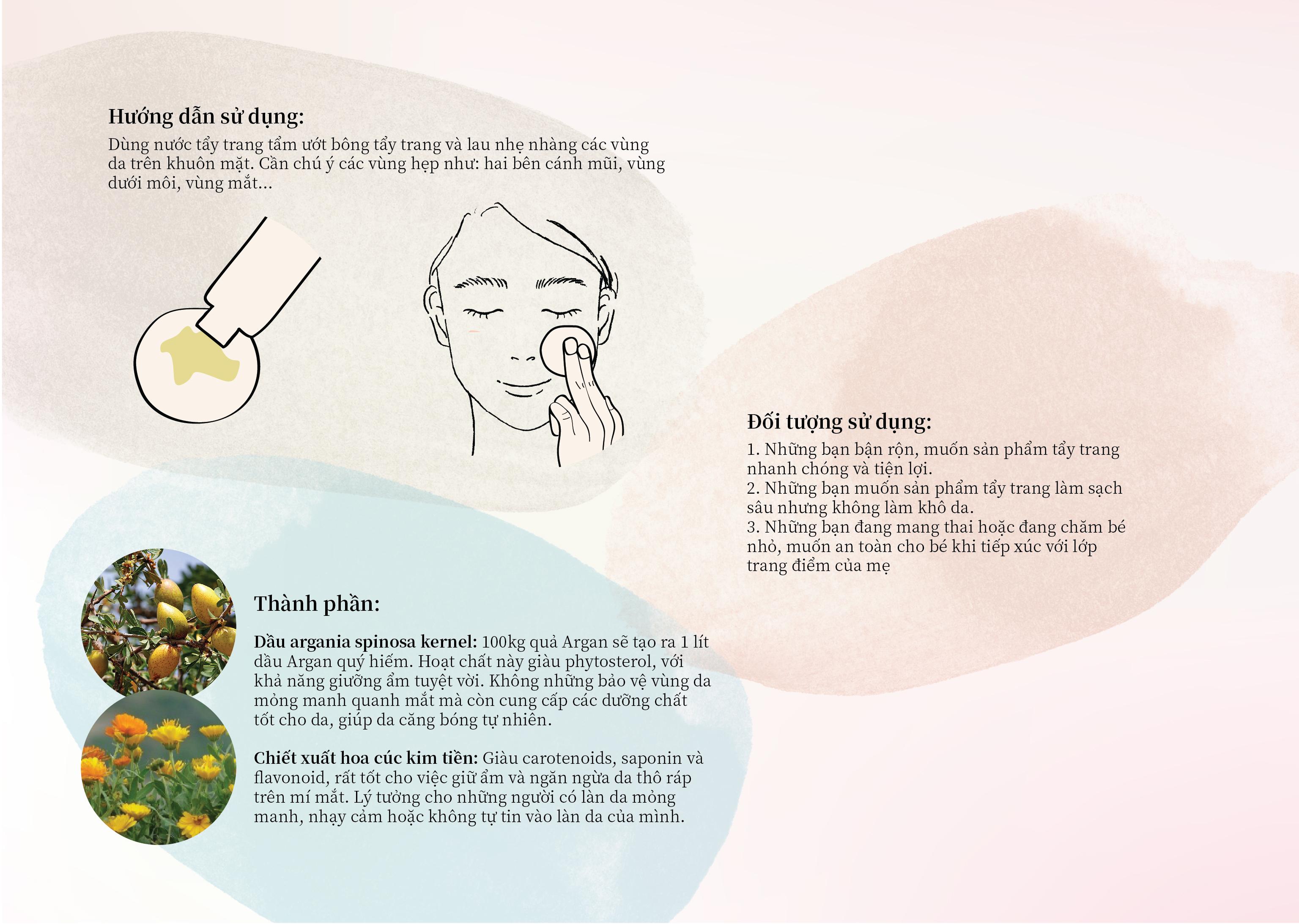 NƯỚC TẨY TRANG HỮU CƠ - naturaglacé POINT MAKE-UP REMOVER 2