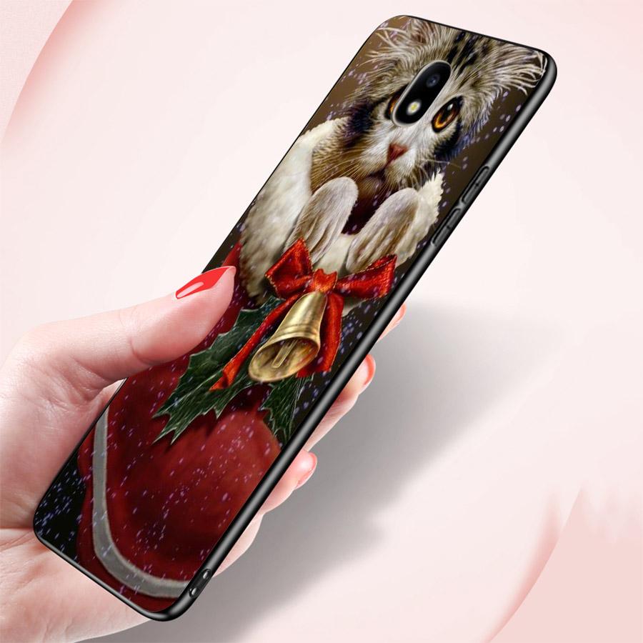 Ốp lưng cứng viền dẻo dành cho điện thoại Samsung Galaxy A7 2015 - GIÁNG SINH ĐẾN RỒI MS GSDRMR008