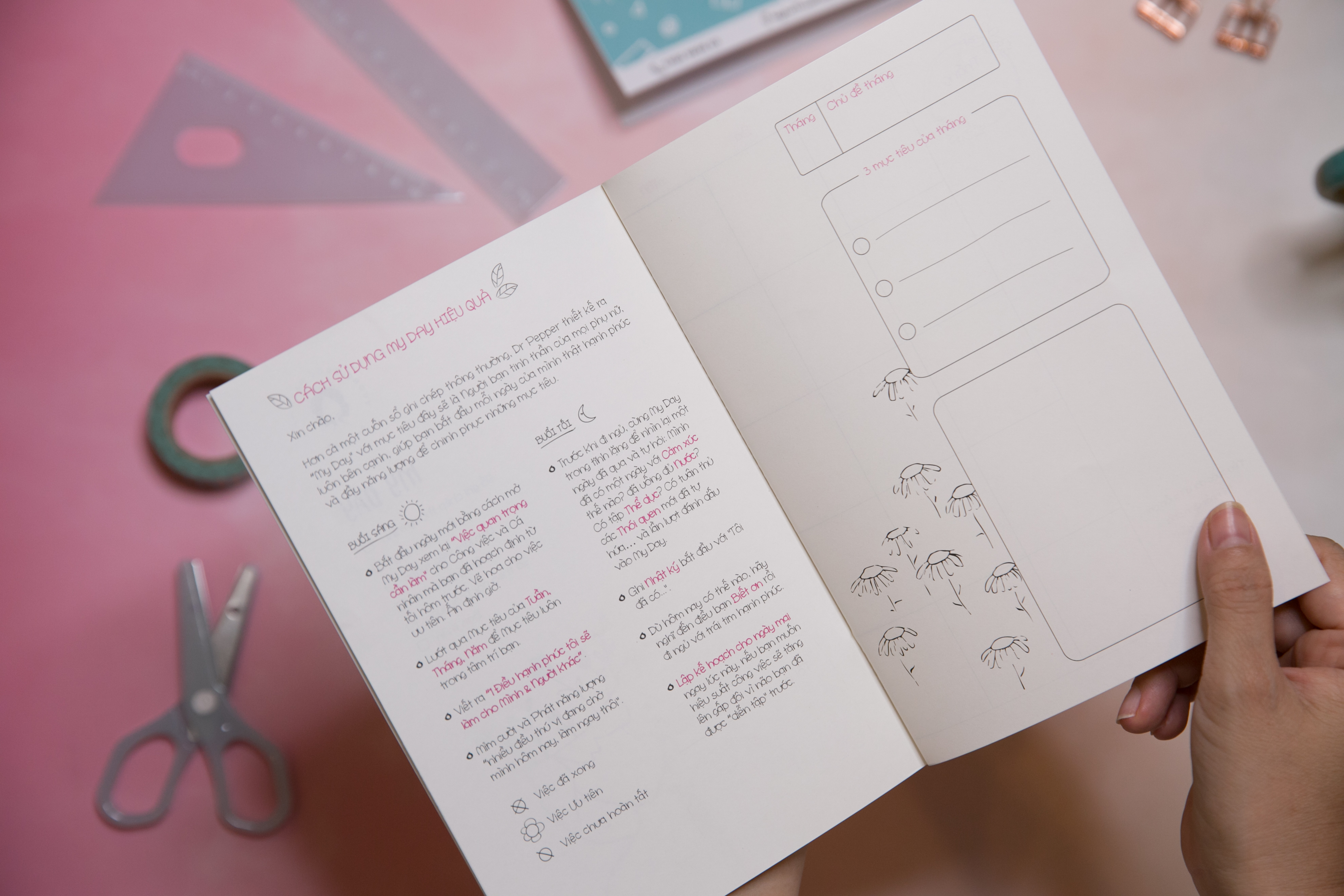 Sổ kế hoạch My Day Planner by Dr Pepper ( 2020)