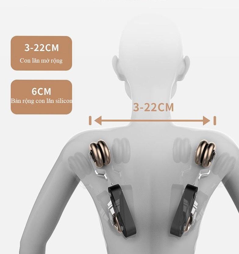 con lăn massage của Ghế massage toàn thân 4D KS 669
