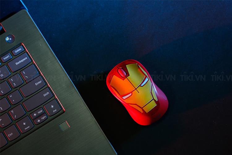 Bộ 4 Chuột Logitech M238 Marvel Collection - Hàng Chính Hãng