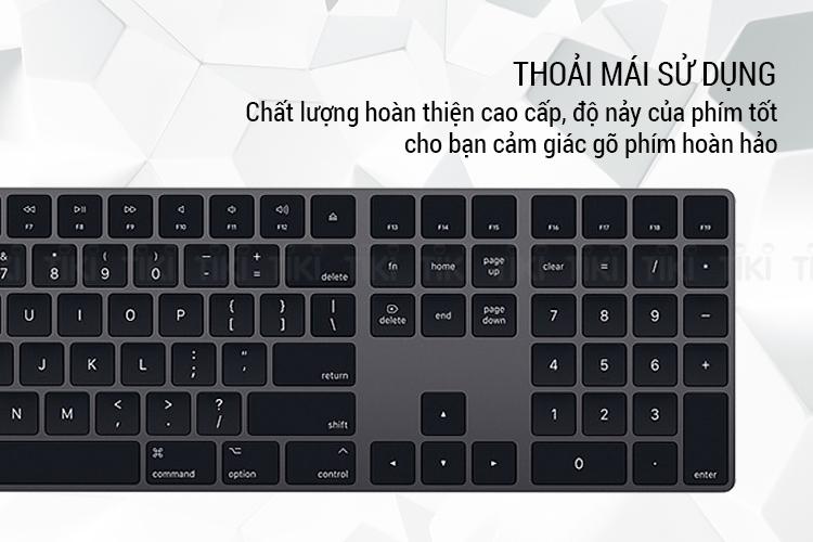 Bàn Phím Không Dây Apple Magic Keyboard Fullsize - Hàng Chính Hãng