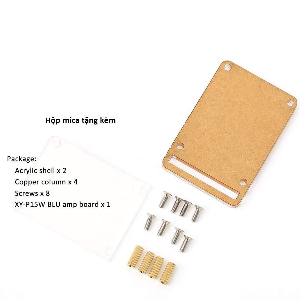 Mạch Khuếch Đại Âm Thanh Bluetooth 2 15W XY-P15W tặng hô p Mica trong suốt 5