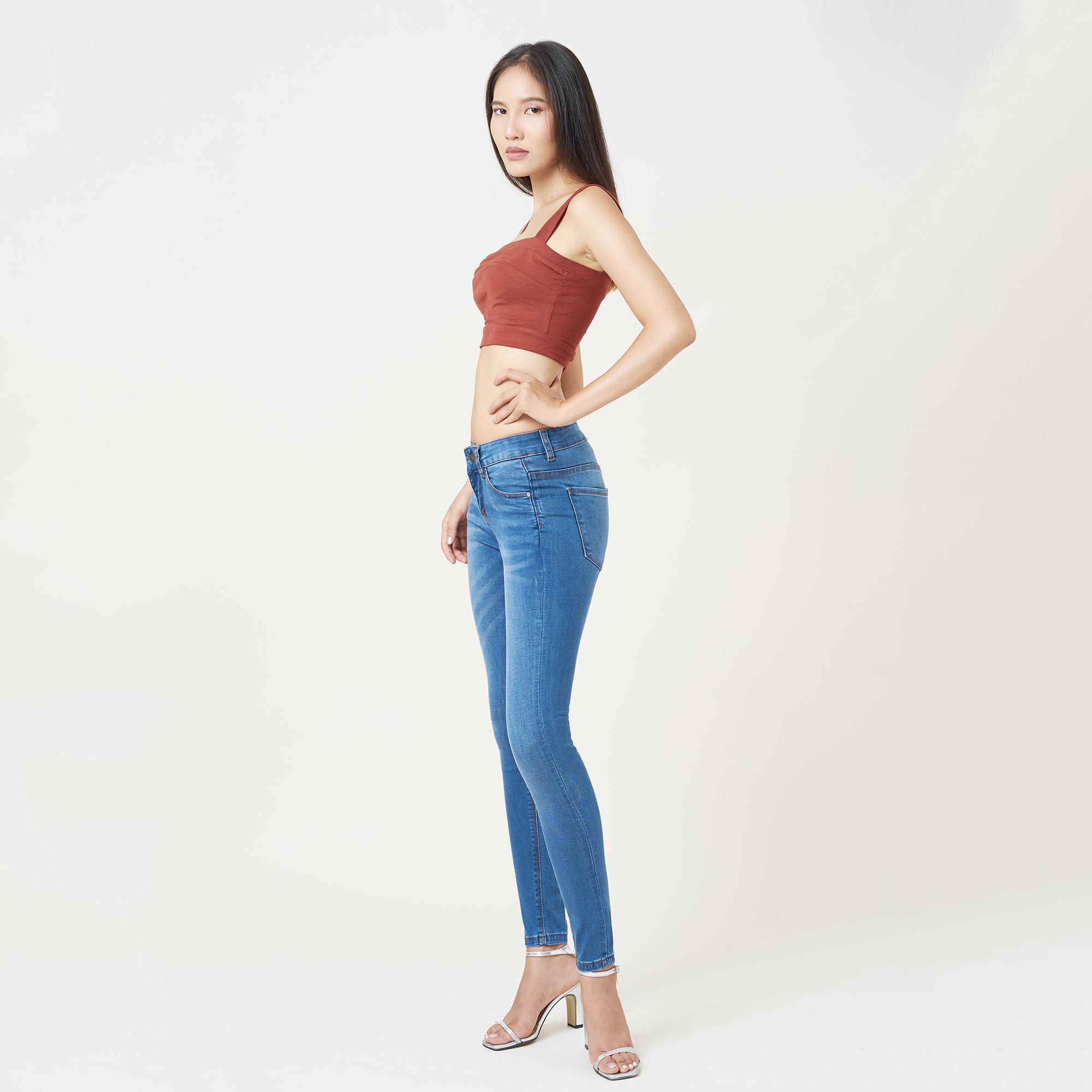 Quần Jean Nữ Skinny Lưng Vừa Aaa Jeans Có Nhiều Màu Size 26 - 32 10