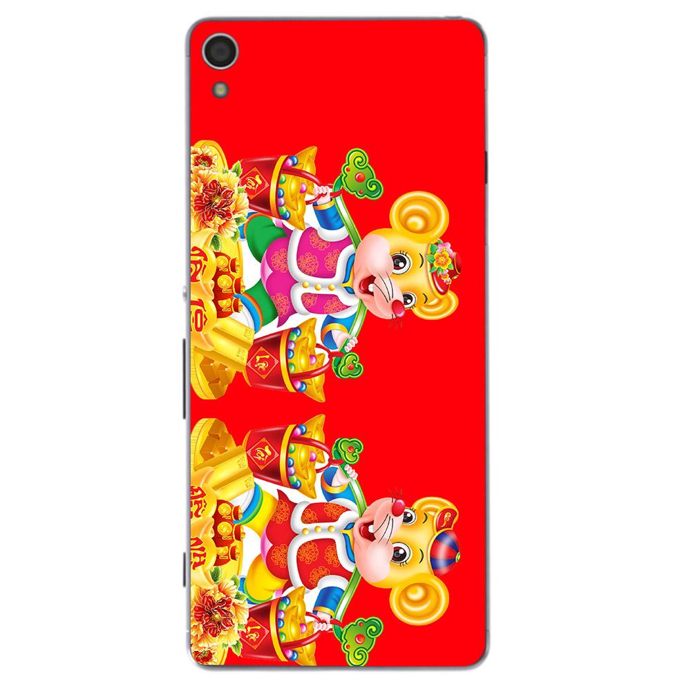 Ốp lưng điện thoại Sony Xperia Z5 - Chuột thần tài 09 MS CTT09