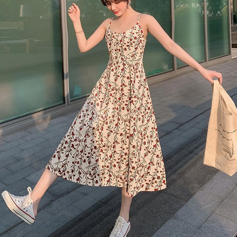 Váy 2 dây dáng dài, chất liệu vải cao cấp nhẹ nhàng thoáng mát,phù hợp đi biển đi chơi ngày hè 1