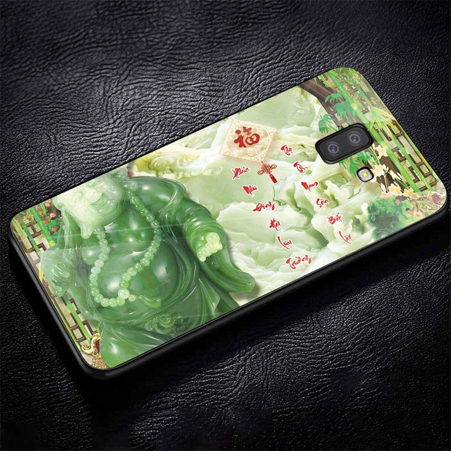 Ốp kính cường lực cho điện thoại Samsung Galaxy J8 - thần tài kim MS TTKIM046