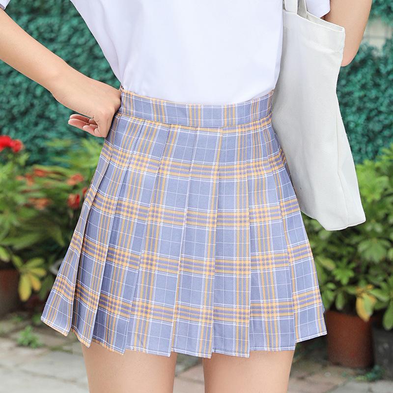Chân Váy TennisKẻ Caro Hàn Quốc Siêu Xinh VT01 7