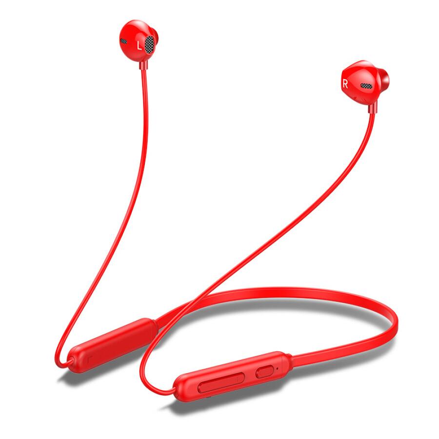 Tai Nghe Bluetooth OKSJ Đỏ