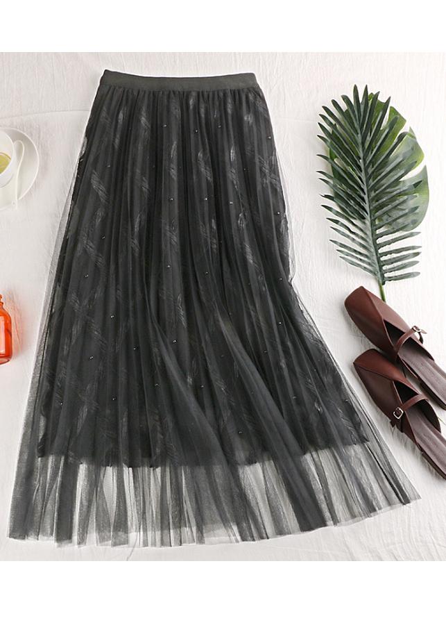 Chân váy ren Tutu ren thừng sang trọng hàng cao cấp VAY20 Free size 9