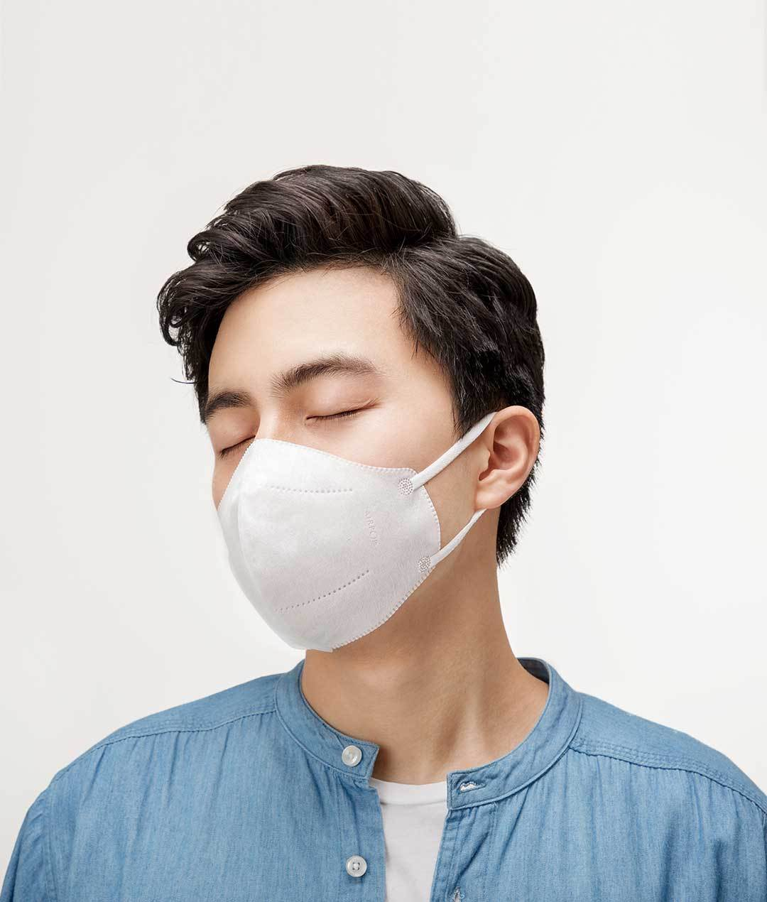 Xiaomi AirPOP Mouth Face Mask 20pcs/set Cycling Anti-Dust Non-woven Facial Protective Cover Masks for Unisex Men Women