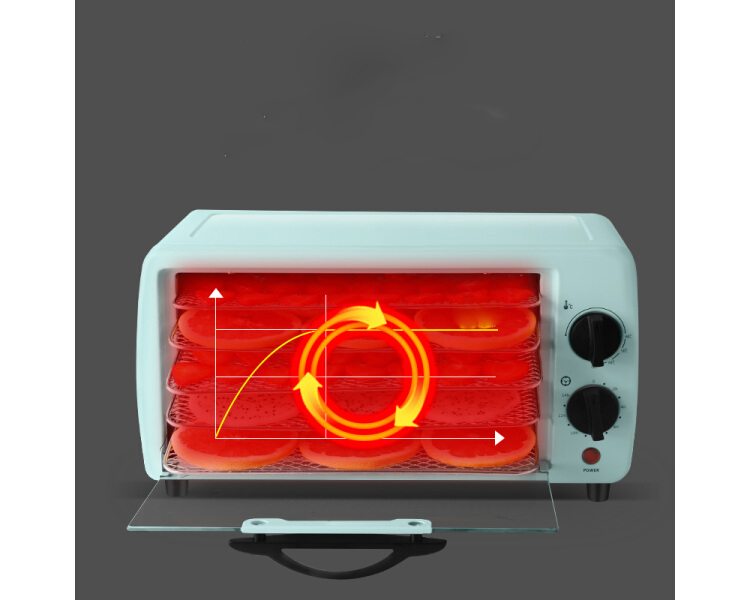 Keshun TO-094B food baking machine dried fruit machine household food meat fruit medicine dehydration air dryer temperature adjustable timing