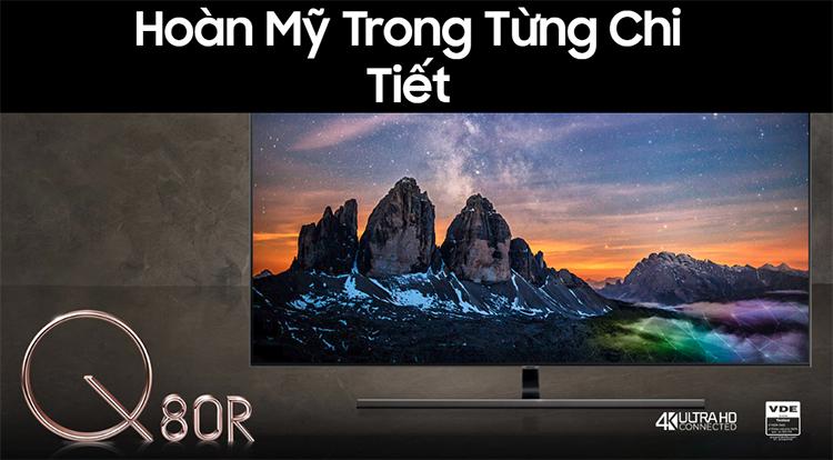 Smart Tivi QLED Samsung 55 inch 4K UHD QA55Q80RAKXXV