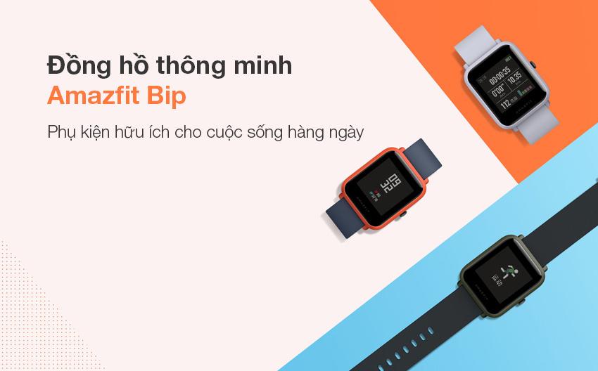 Đồng Hồ Thông Minh Xiaomi Amazfit Bip - Hàng Chính Hãng