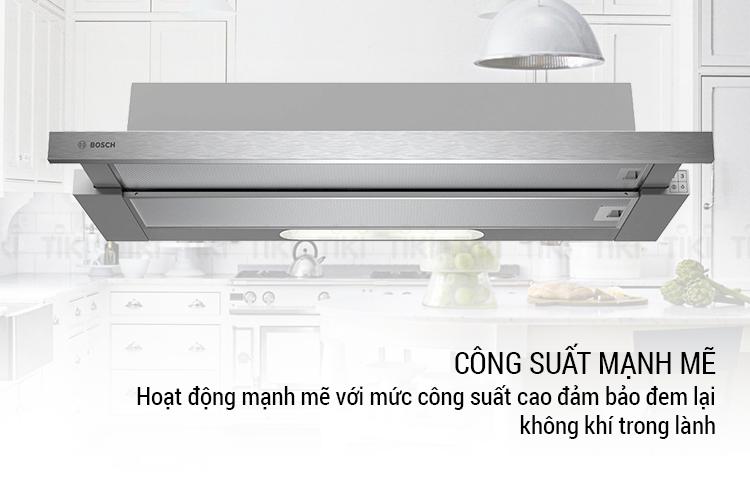 Máy hút mùi Âm Tủ Bosch DHI923GSG 90cm - Hàng Chính Hãng