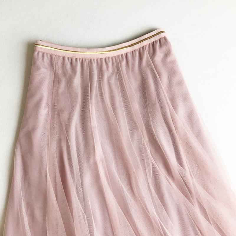 Chân váy lưới tutu xòe nhiều tầng VAY49 free size 6