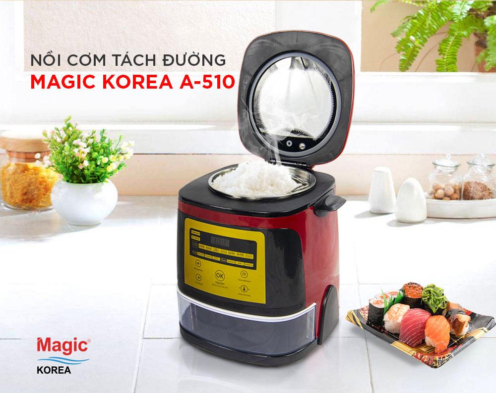 Nồi Cơm Tách Đường Magic Korea A-510 (1.5L)