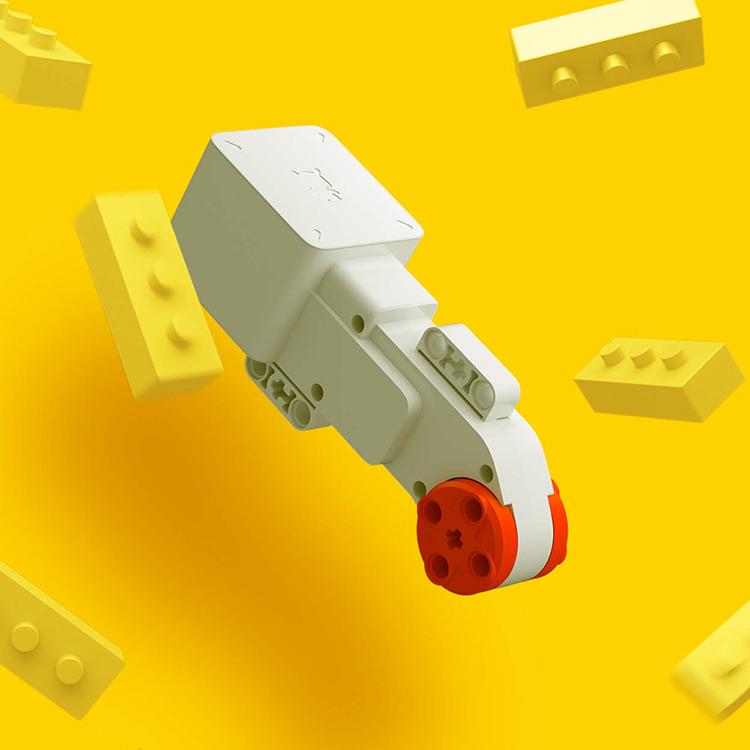 Xiaomi Mitu Building Block Robot Toy Set with Color Sensor 978 Components Self-balance System Smartphone Remote Control