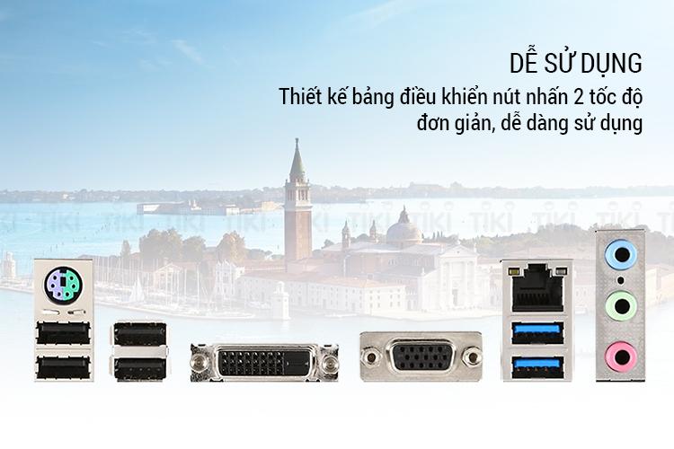 Bo Mạch Chủ Mainboard MSI H110M PRO-VD PLUS Socket 1151 - Hàng Chính Hãng