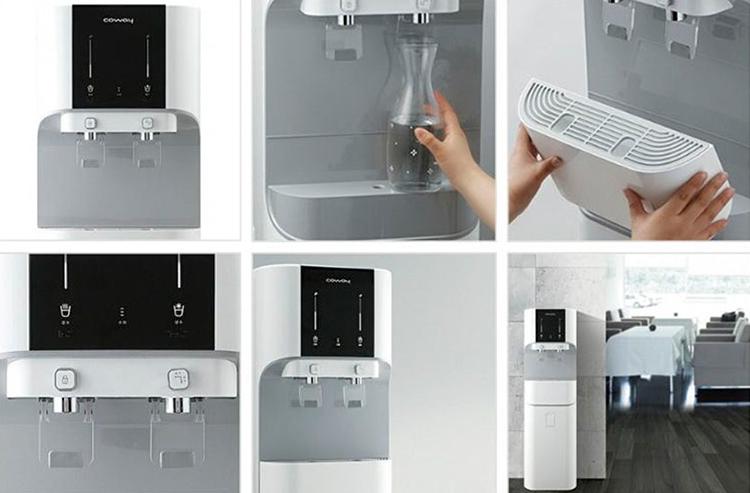 Máy lọc nước nóng lạnh Coway CHP-671R
