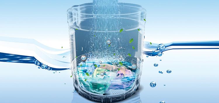 Máy giặt cửa trên Aqua AQW-U90CT-S (9kg) - Hàng Chính Hãng