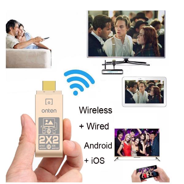 Bộ kết nối HDMI kép Onten OTN-7573 cao cấp