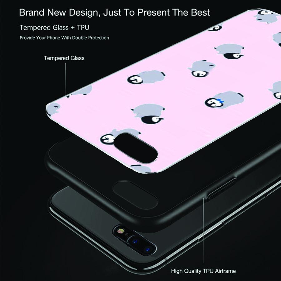Ốp lưng cứng viền dẻo dành cho điện thoại iPhone 7 Plus / 8 Plus - mông to MS MONG007