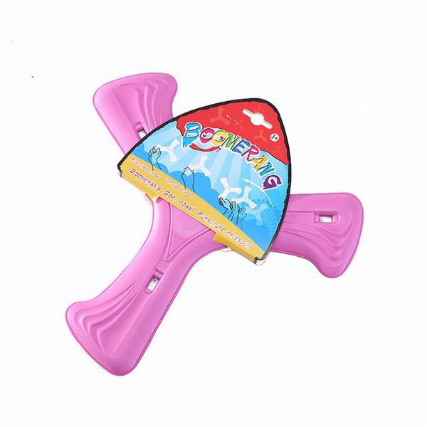 Boomerang 3 cánh Eva có đèn led - Màu hồng 4