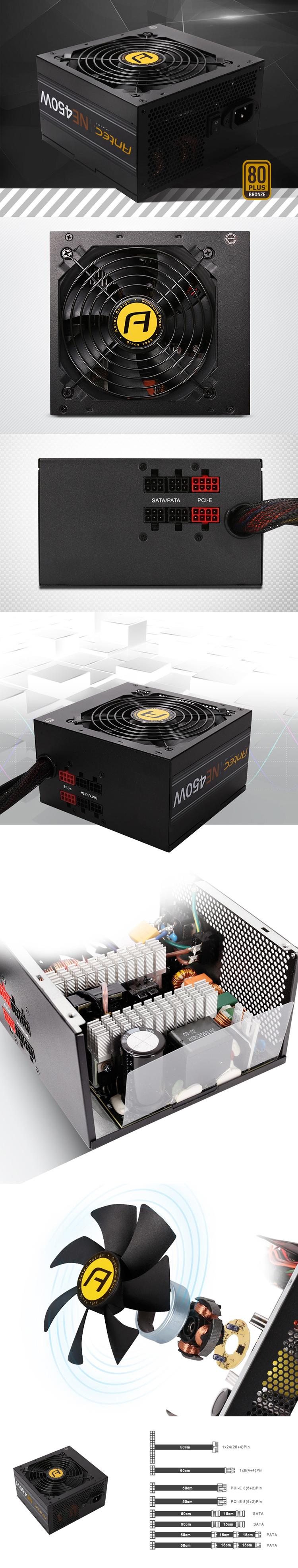 Nguồn Điện Máy Tính Antec Neo Eco (450W)