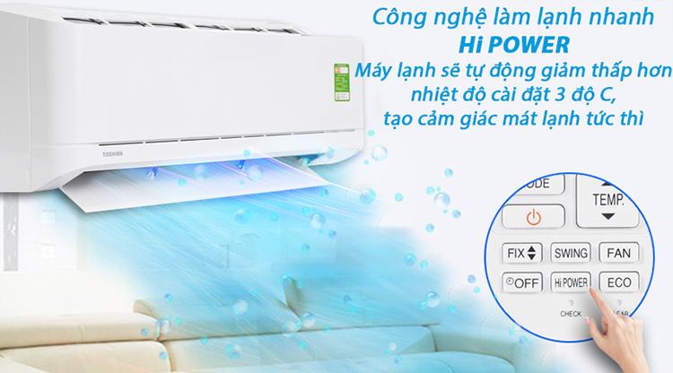 Máy Lạnh Toshiba RAS-H18U2KSG-V (2.0HP) - Hàng Chính Hãng