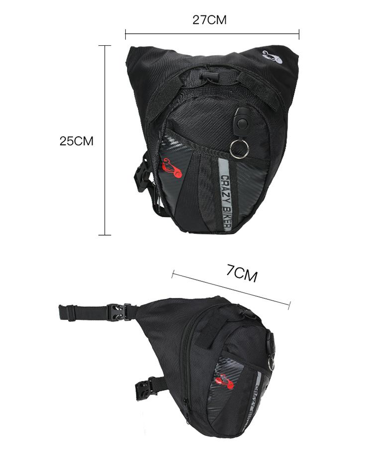 Portable Waterproof Motorcycle Riding Waist Bag Outdoor Leg Bag Elastic Belt Motorcycle Waist Bag