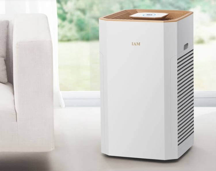 IAM air purifier in addition to formaldehyde decoration odor bacteria smog measured CADR = 897 cubic meters / hour small Jing fish APP control KJ830F