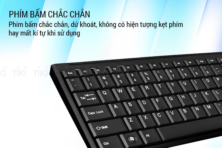 Bộ Bàn Phím Và Chuột Không Dây Fuhlen A120G - Hàng chính hãng