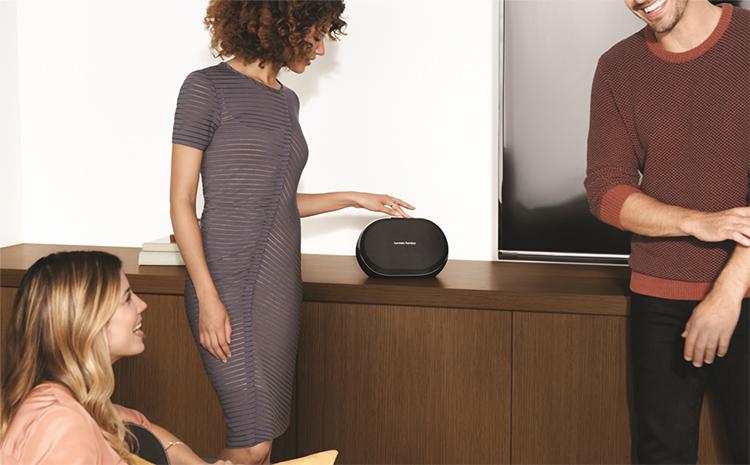 Loa Bluetooth Harman Kardon Omni 10 Plus 50W Wifi - Hàng Chính Hãng