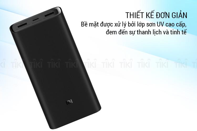 Pin Dự Phòng 20000mAh Xiaomi GEN 3 - Hàng Nhập Khẩu