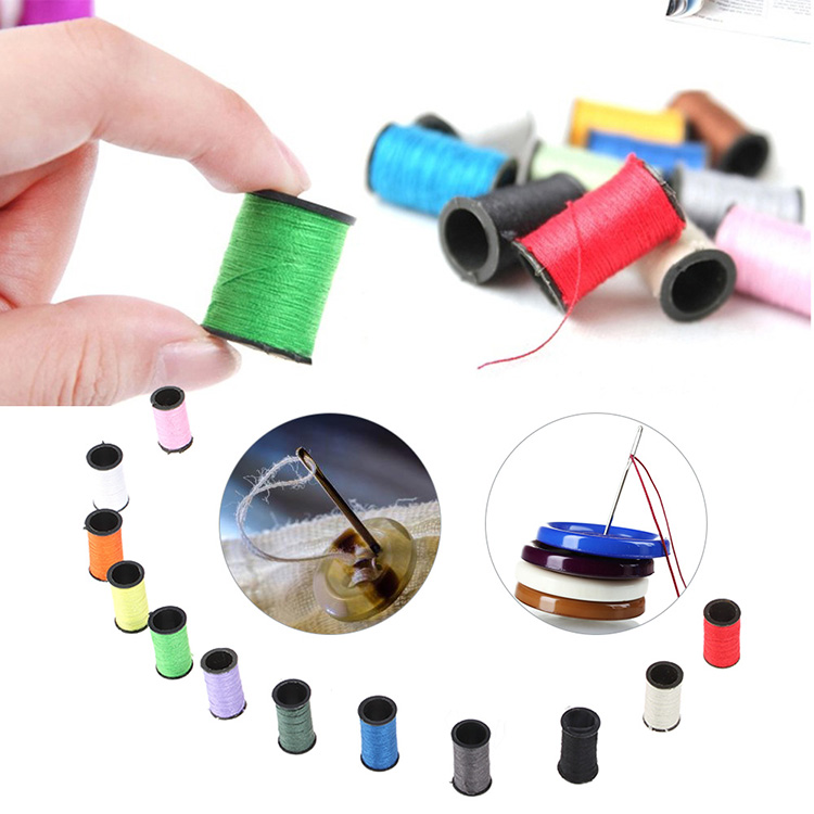 Professional Sewing Tools Kit Thread Pin Needle Supplies Variety Set Travel