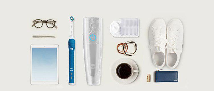 Bàn Chải Đánh Răng Điện Tử 2 Đầu Thay Thế BRAUN Oral-B 4000 Sonic