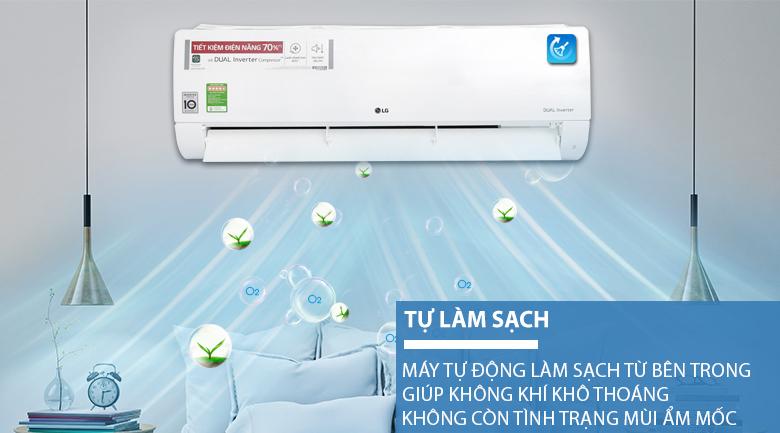 Máy Lạnh Inverter LG V18ENF (2.0HP) - Hàng chính hãng  = 13.269.000đ