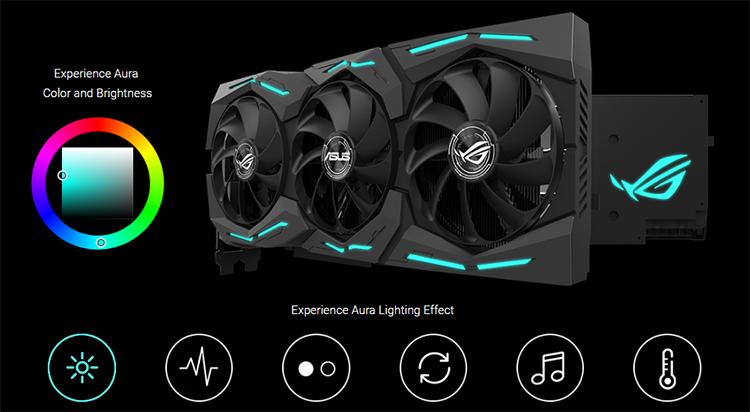 Card Màn Hình Gaming ASUS ROG-STRIX-RTX2080TI-O11G-GAMING ROG Strix GeForce RTX 2080 Ti OC Edition 11GB GDDR6 - Hàng Chính Hãng