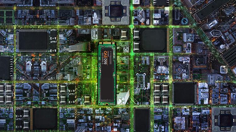 Ổ Cứng SSD Samsung 860 Evo MZ-N6E250BW 250GB Sata III M.2 2280 - Hàng Nhập Khẩu