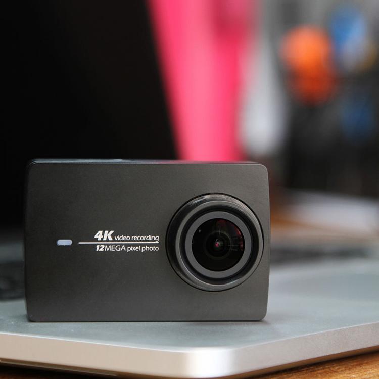 Camera Hành Động Yi Action 4K Quốc Tế (Đen) - Hàng chính hãng