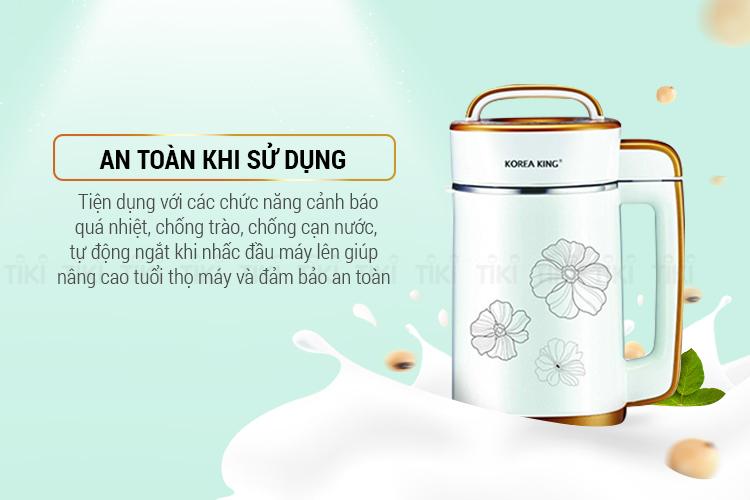 Máy Làm Sữa Đậu Nành Korea King KSM-1302GS (1.3L)